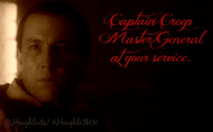 Captain Creep Master General or CCMG for short if your nasty
