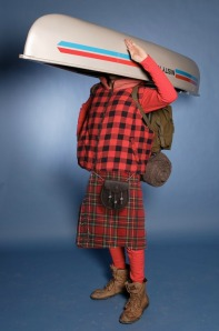 A kilted Canoehead...well ya know. It's a mythical creature.