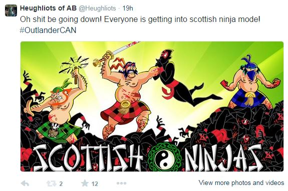 scottish ninjas tweet