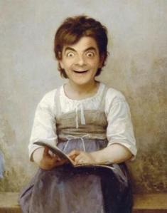 Study-Girl-Mr-Bean-dailyfunnyphotos.com_