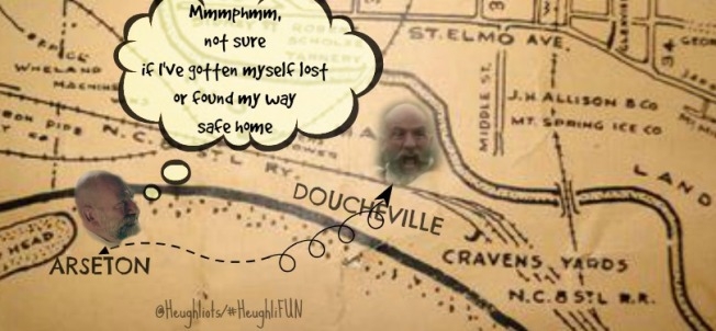 Look out for holes Dougal!