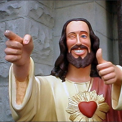 Sure, Jesus is cool...it's just some of his followers give me the heebies *cough* Bain *cough*