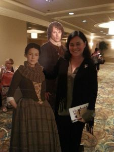 Our Giant Jamie & Semi Giant Claire - Hmmmm- Petite Claire...Hanging out with their favourite person!
