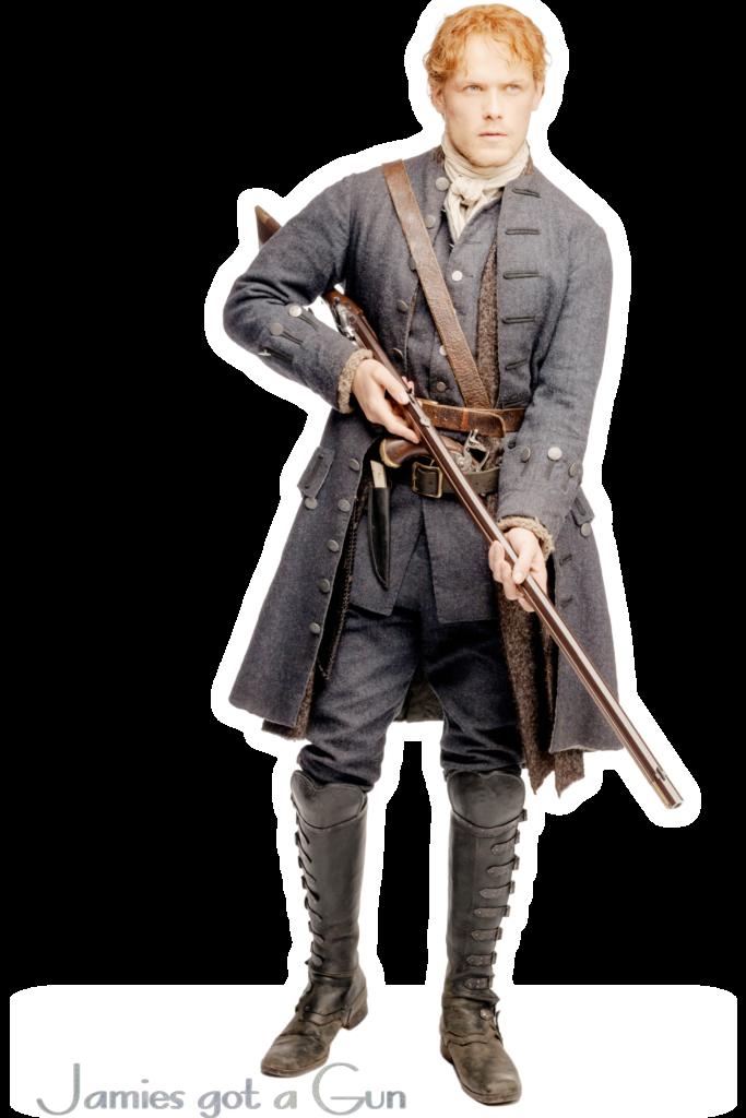Outlander Jamie Fraser Sam Heughan