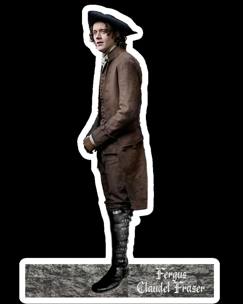 Outlander Cesar Domboy Fergus Claudel Fraser